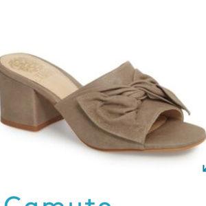 "Vince Camuto Sharrey Sandal ""Silver/Grey"""